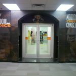 UT Men's Locker Room Shower Entrance