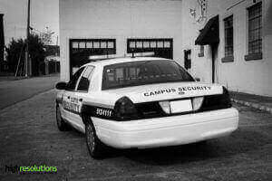 Security vehicle reflective graphics 1